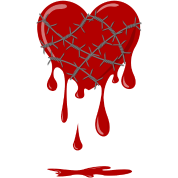 bleeding-heart-silver-barbed-wire